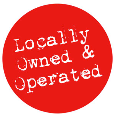 Locally Owned for over 40 years!